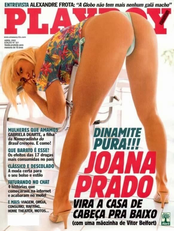 Playboy Joana Prado Nua