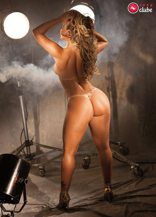 Fotos nuas Viviane Araujo pelada revista sexy