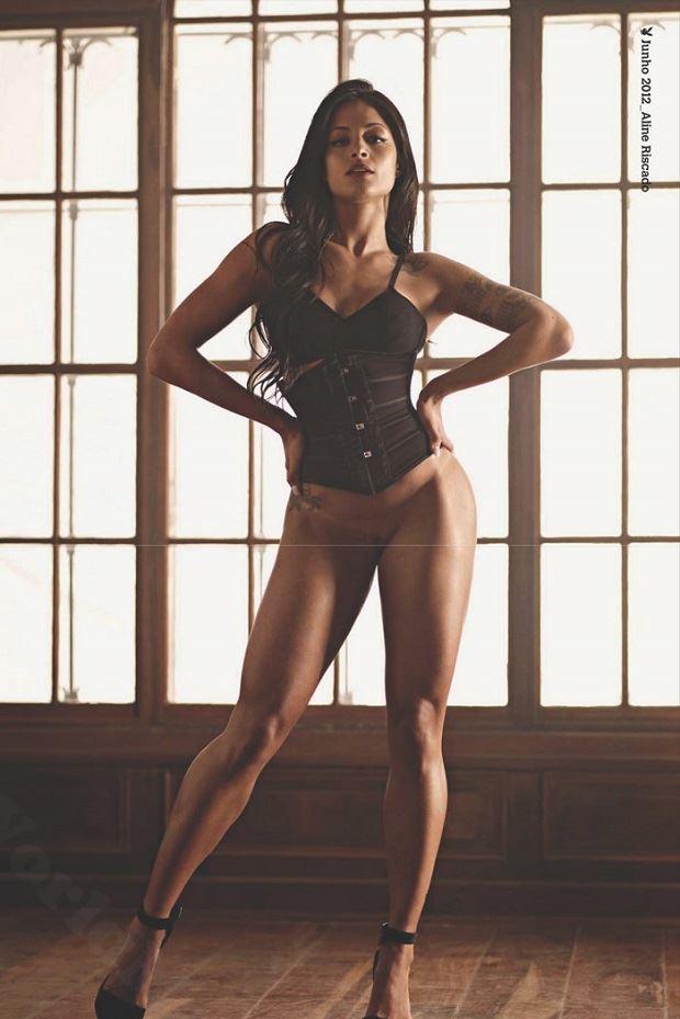 Fotos Nuas Aline Riscado Pelada na Playboy