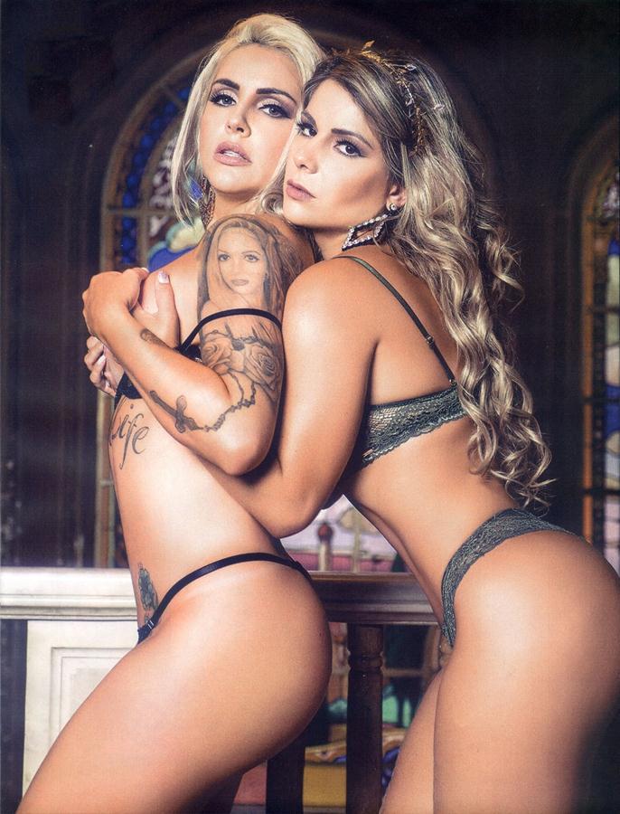 Vanessa e Luanda Musas do Brasil, ensaio sensual